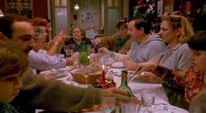 In Parenti serpenti di Monicelli del1992 la famiglia riunita a tavola a Natale