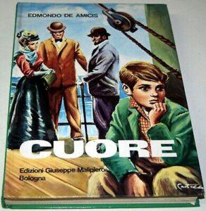 La copertina del libro Cuore di Edmondo de Amicis